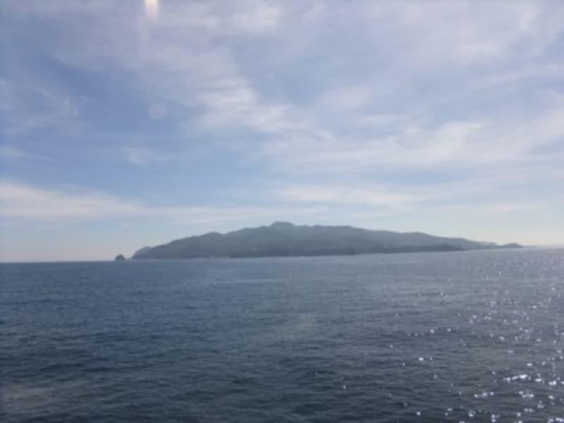 日本海で一番大きな島、佐渡