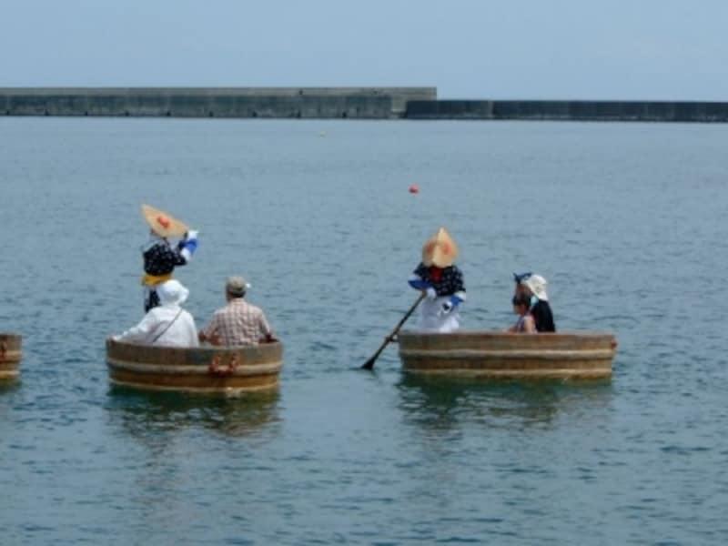 小木のたらい舟(1)