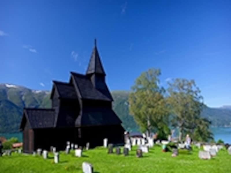 ノルウェー最古の木造教会undefined
