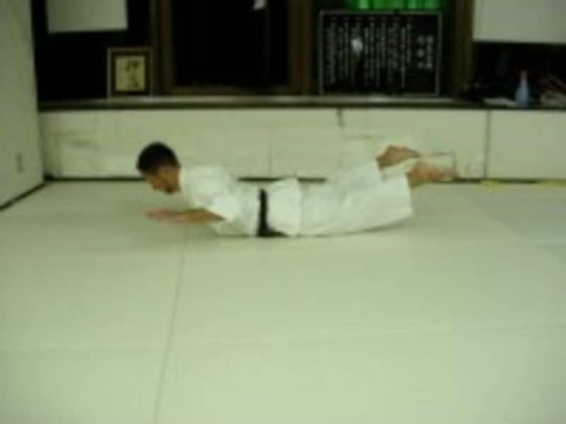 空手,トレーニング,背筋