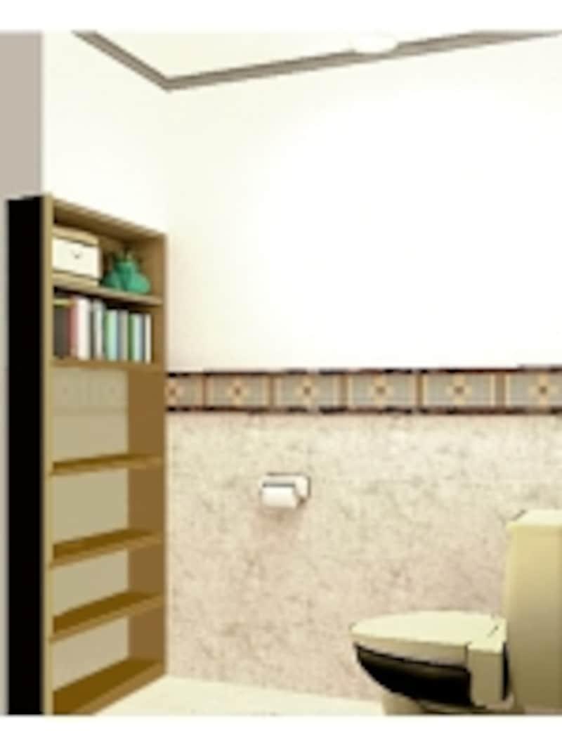 トイレの本棚