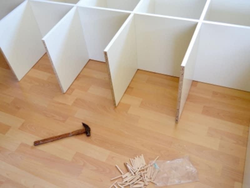 新しい家具の接着剤の臭いにも注意