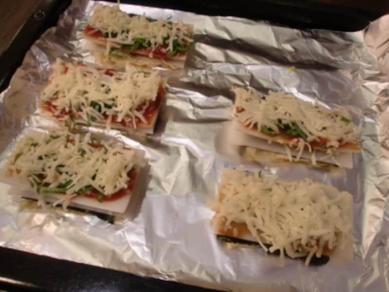 和風 餅 ピザ