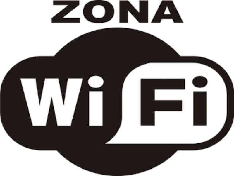Wi-Fiポイント目印