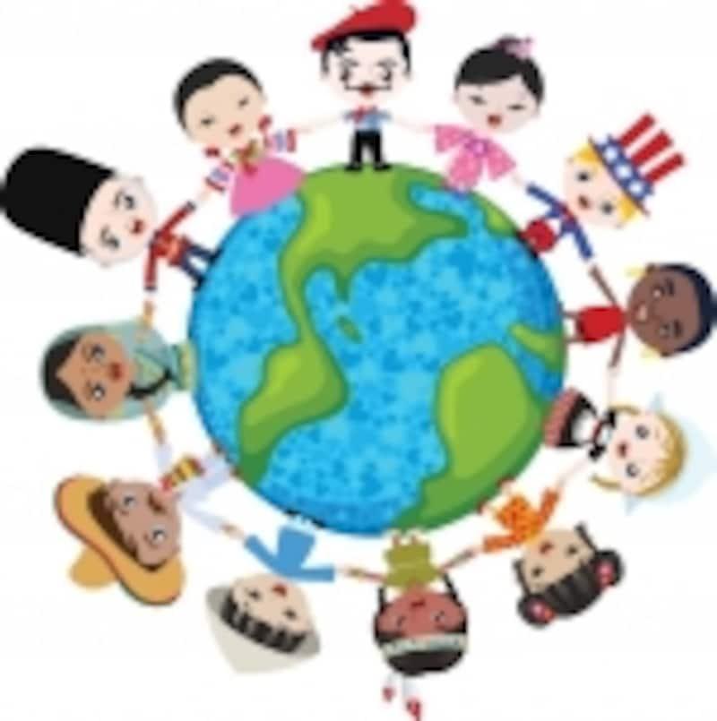 世界中に友だち!