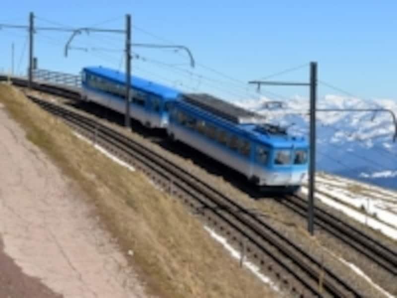リギ山への登山電車