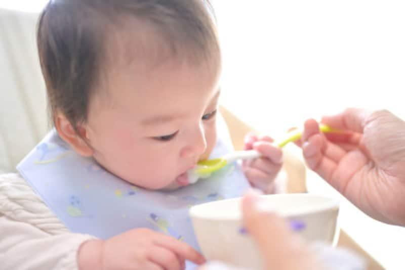 離乳食の主食、食材別のポイント