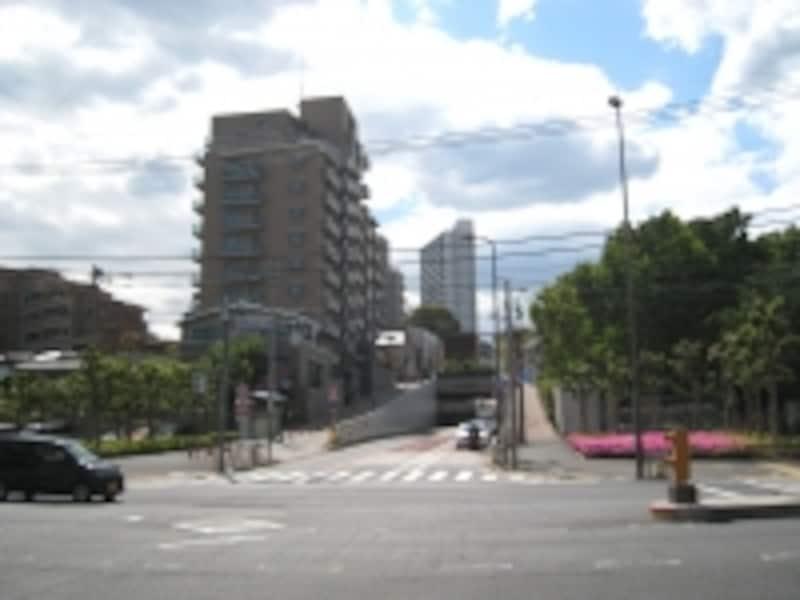 大井町方向を見たところ