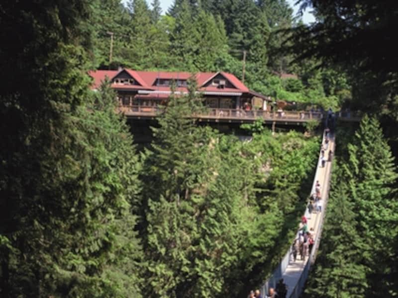 高さ70mの吊り橋はスリル満点!undefined(C)TourismVancouver