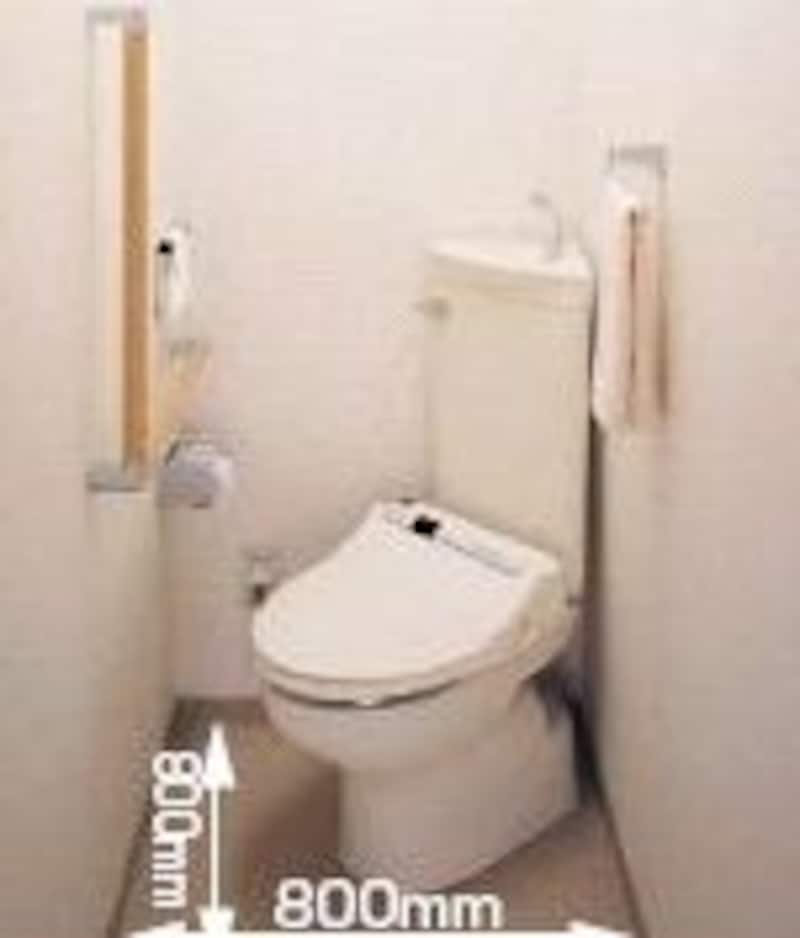 和式から洋式トイレに