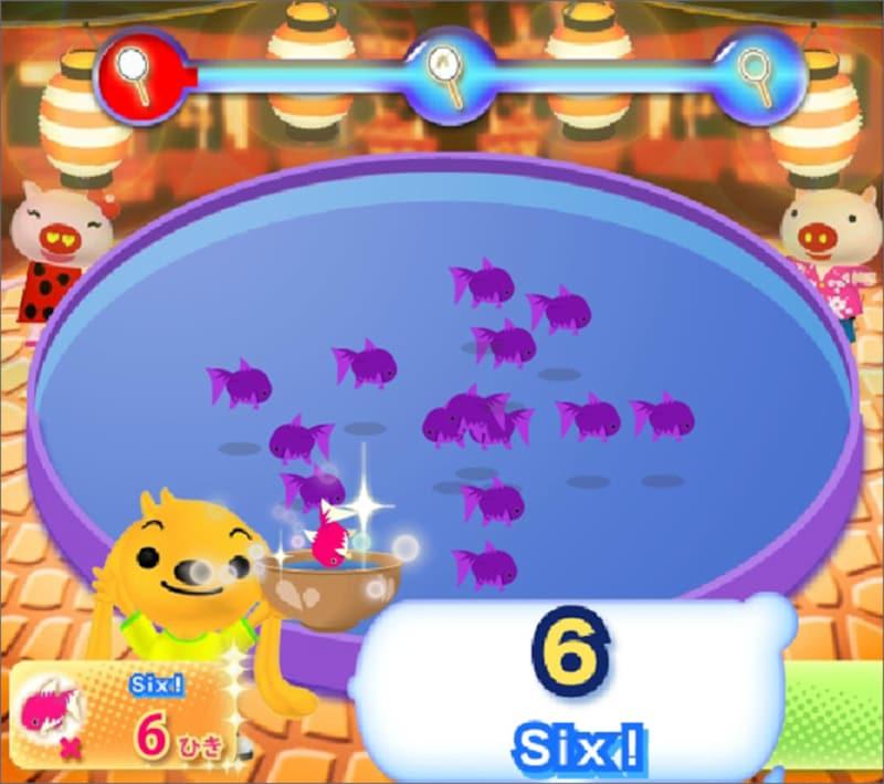 マウス練習ゲーム・遊び Yahoo!きっずワンダの金魚すくい名人