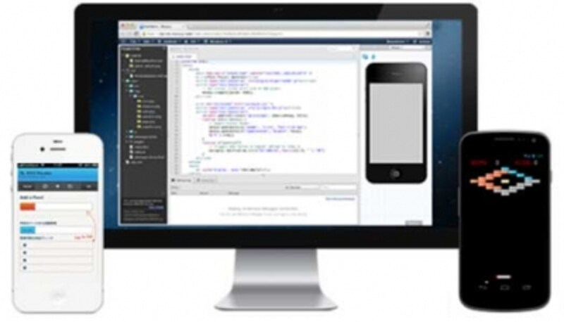 monaca-Web上でHTML5アプリやネイティブアプリを作成可能