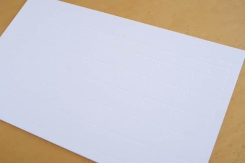 MUCUホワイトボードカレンダー