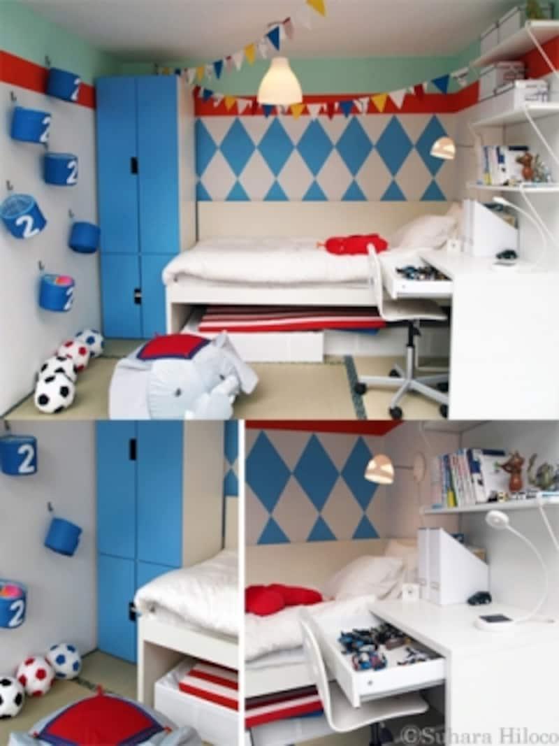 イケア3畳の子供部屋