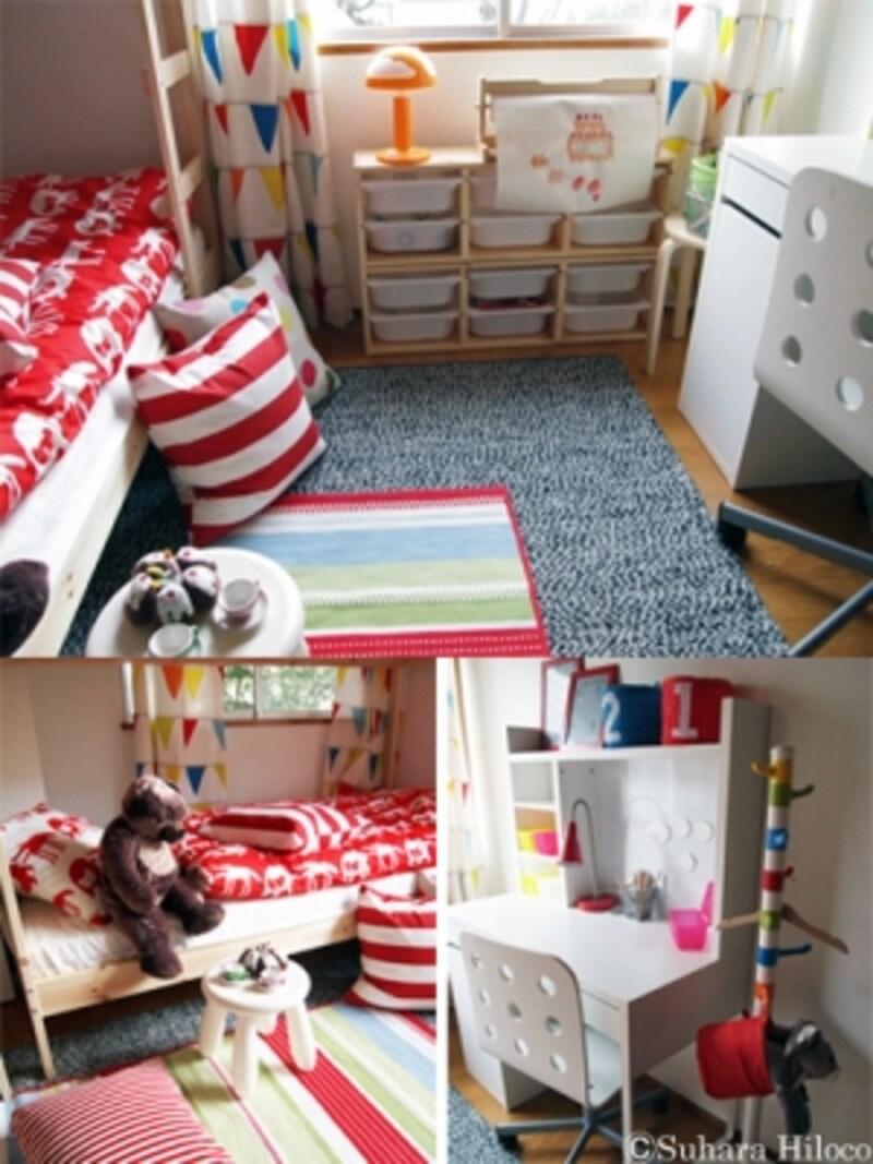 泰山館の子供部屋と収納