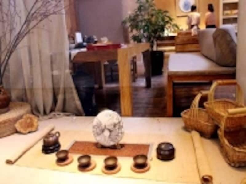 北京798芸術区「中国茶ギャラリー」