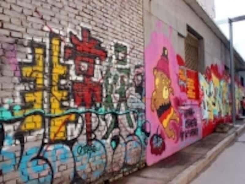 北京798芸術区「ストリートアート」
