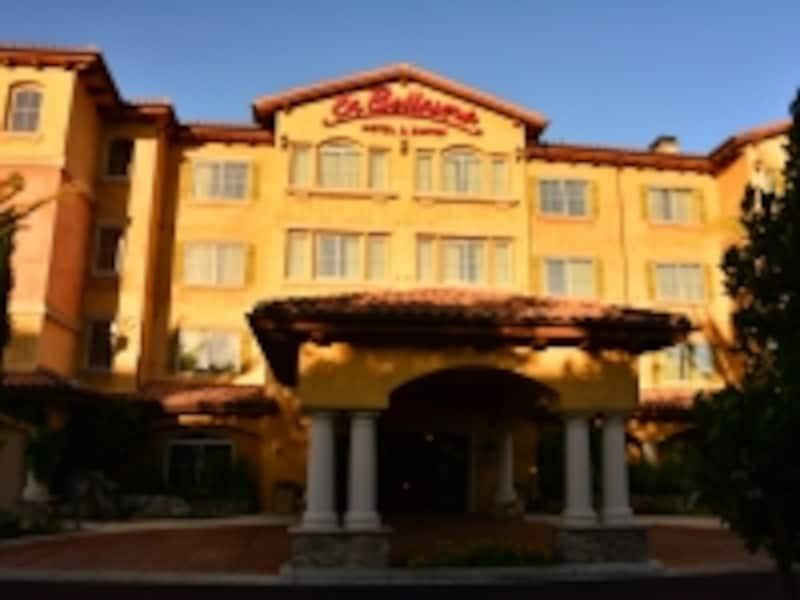 パソ・ロブレスエリア最高級ホテルの1つ