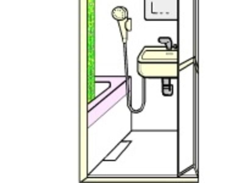 シャワーヘッドを替えるとまた違った圧を感じることができます