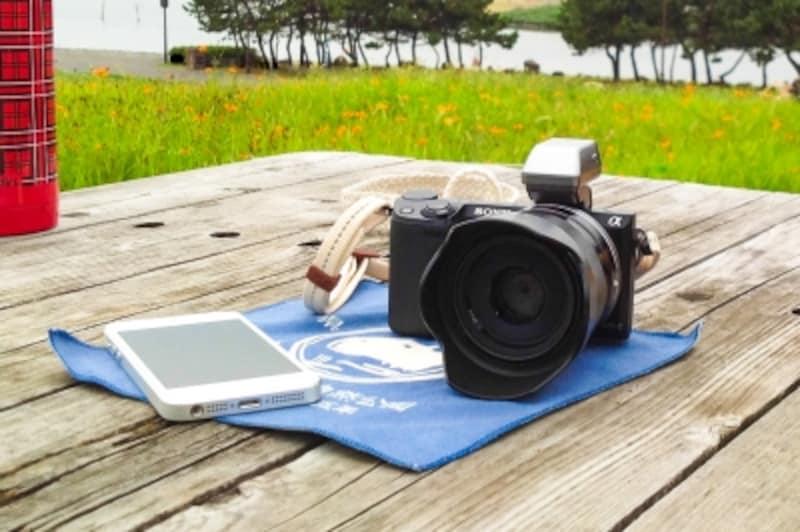 スマホとWi-Fi機能付きカメラがあれば、いつでもどこでも、鬼に金棒!
