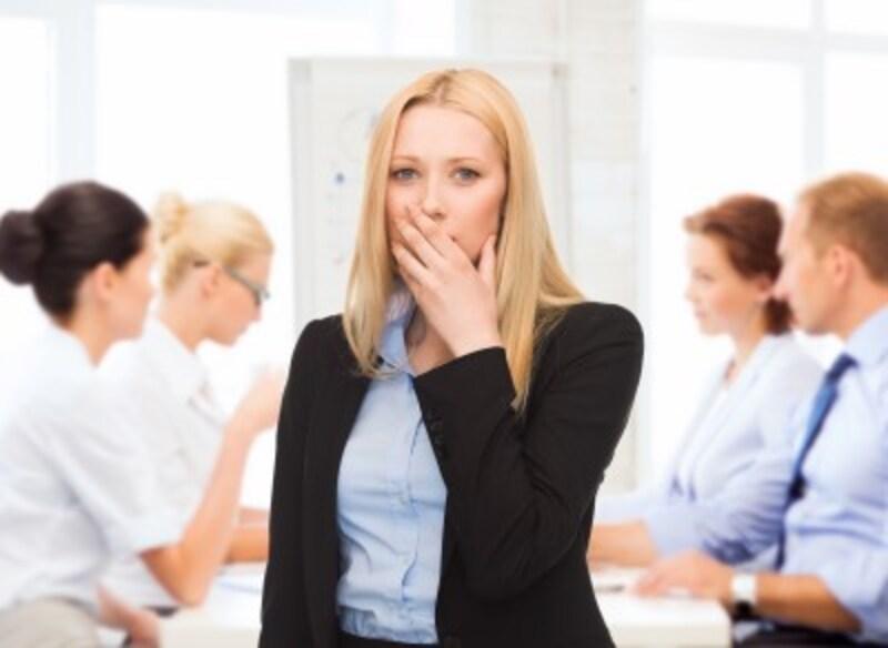 職場の活気をなくす人間関係の問題