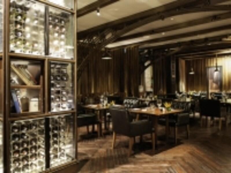 地下のイタリアンレストラン「Medici」ではプリフィクスランチを実施