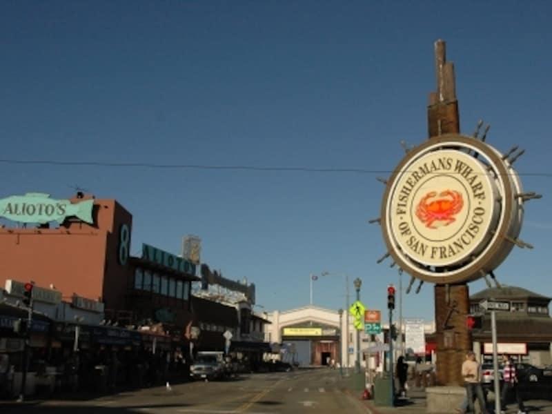 サンフランシスコの有名観光地フィッシャーマンズワーフ