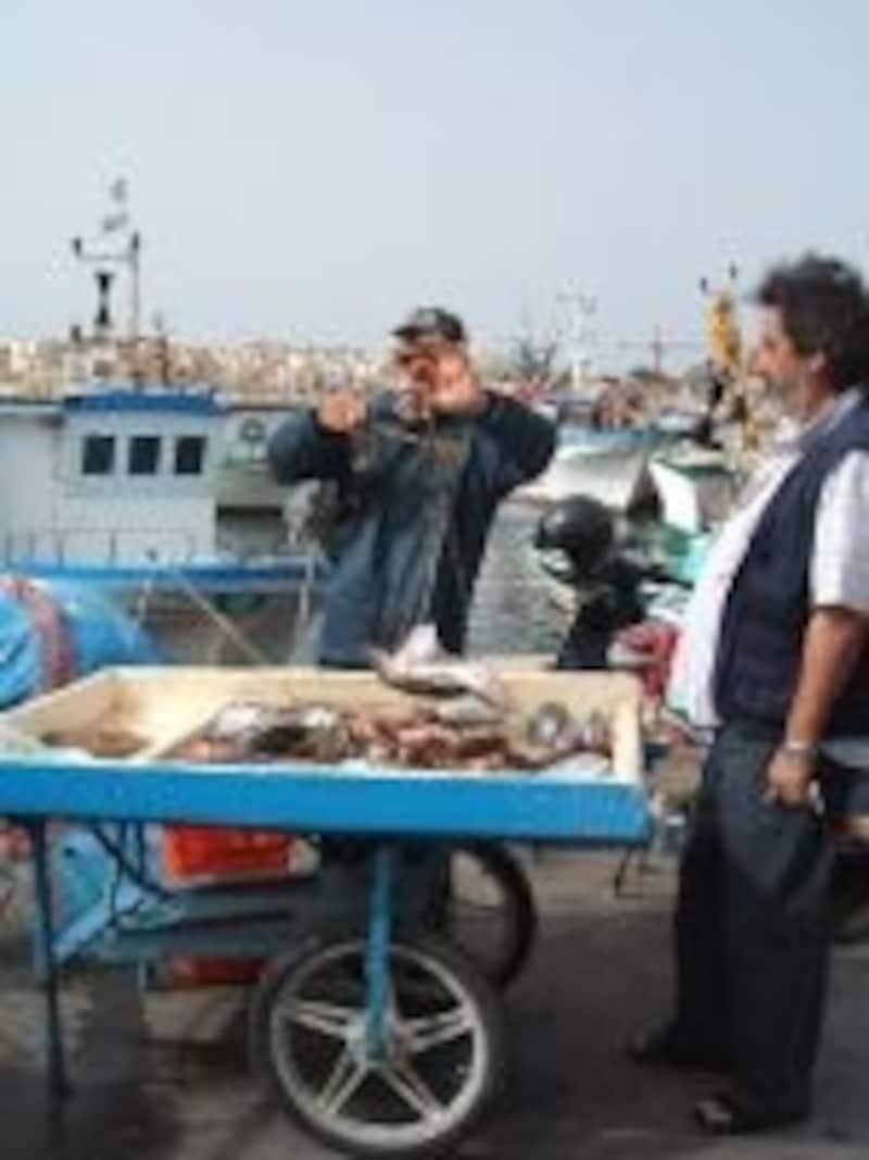 地中海の魚介を使ったシチリア料理も、シチリアのお楽しみ