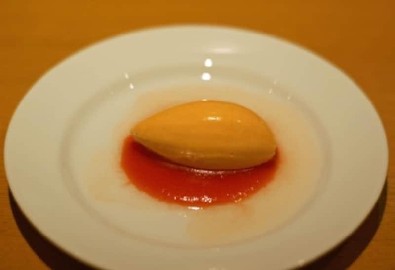 赤ピーマンのムース