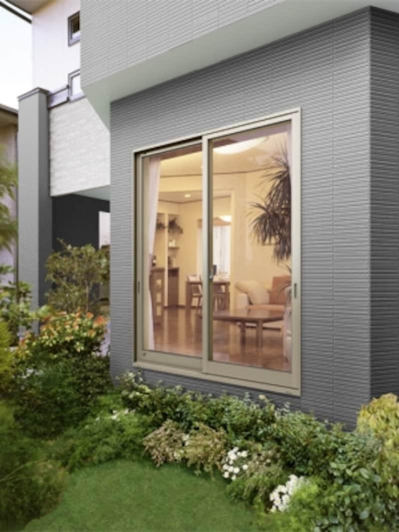 窓ガラスを守るシャッターが無い窓
