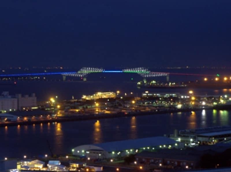 東京ゲートブリッジ特別ライトアップ