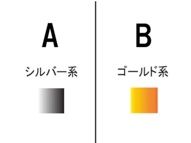 9.アクセサリーはどちらの色がしっくりきますか?