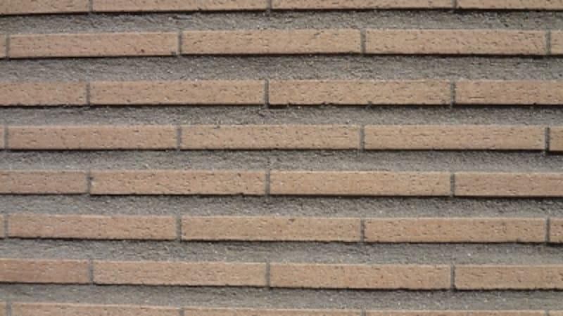 タイル貼りの外壁