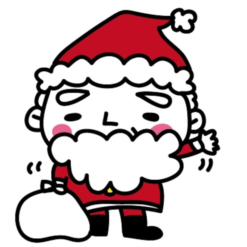 【サンタ クリスマス イラスト カラー かわいい