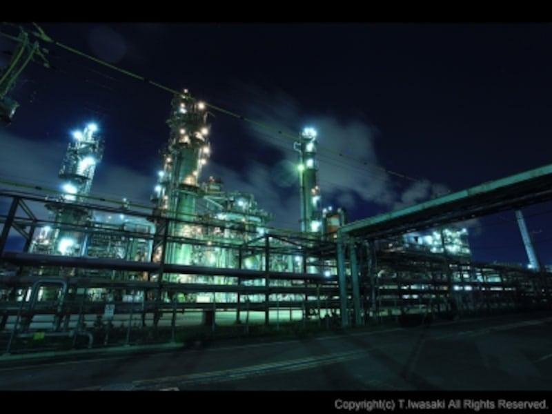 浮島町の工場夜景