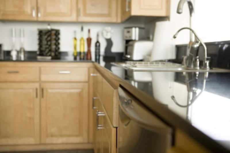 扉が食器にホコリがつくのを防いでくれる