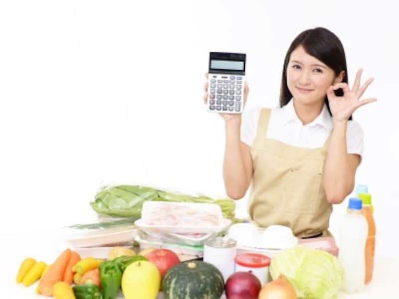 野菜の値段で悩む主婦