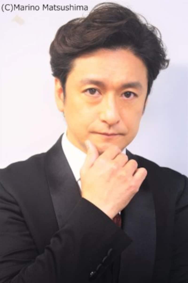 石丸幹二 愛媛県出身。90年『オペラ座の怪人』でデビュー。劇団四季の看板俳優として活躍後、退団。『兵士の物語』『シークレット・ガーデン』『パレード』『ジキル&ハイド』等の舞台、『題名のない音楽界』司会等の映像、そして音楽と多彩に活動している。(C)MarinoMatsushima