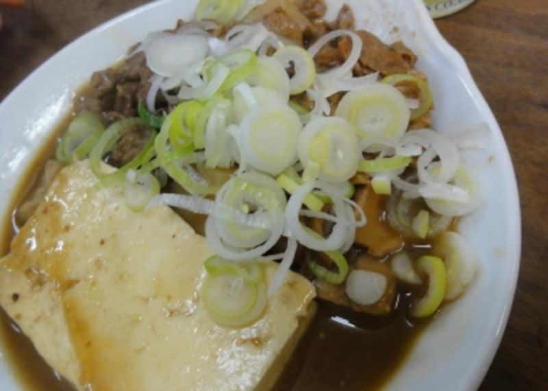 豆腐は味がしみておいしかった