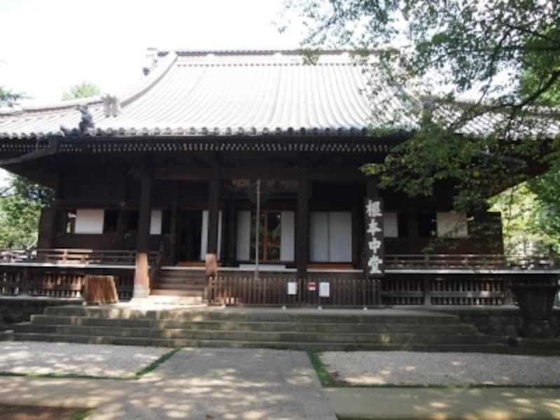 かつての本堂は東京国立博物館前の池あたりにあったが、上野戦争で消失した