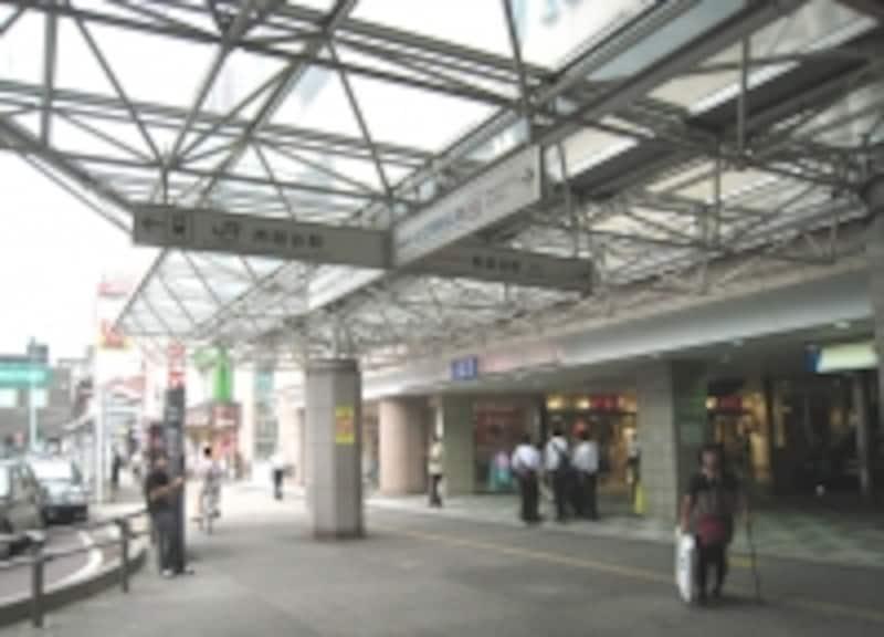両駅の中間地点