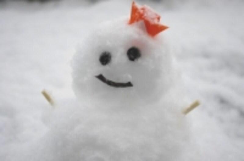 こんな可愛い雪だるまならいいけれど……