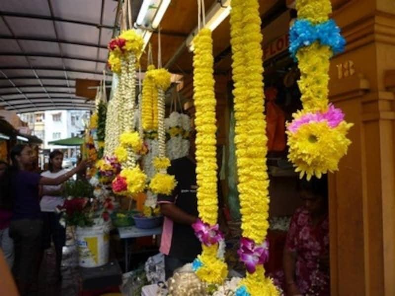 ジャスミンの花飾り