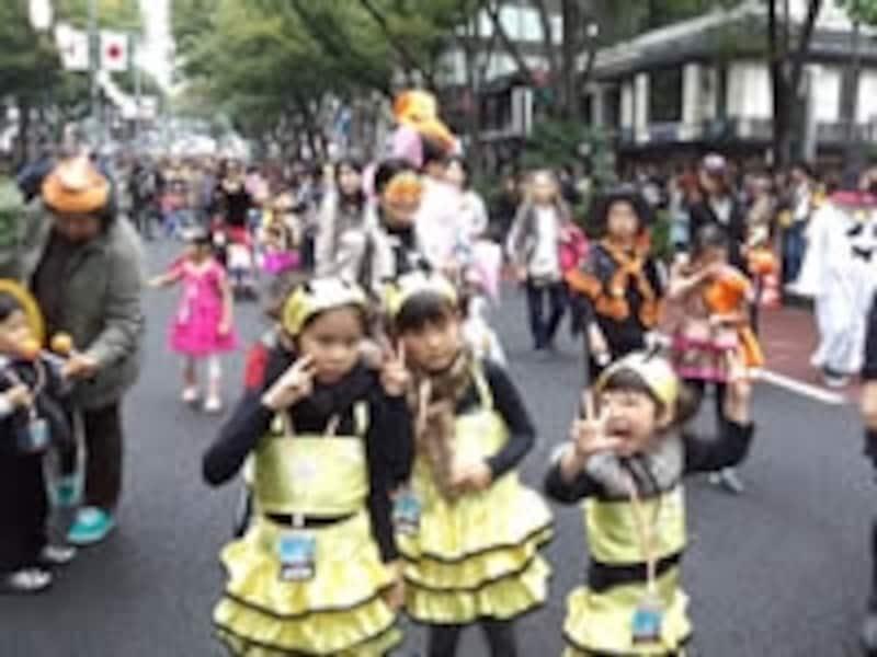 原宿表参道ハローハロウィーンパンプキンパレード