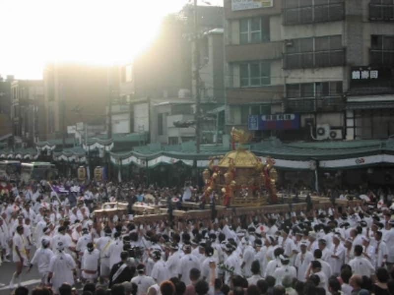祇園祭undefined神幸祭の神輿