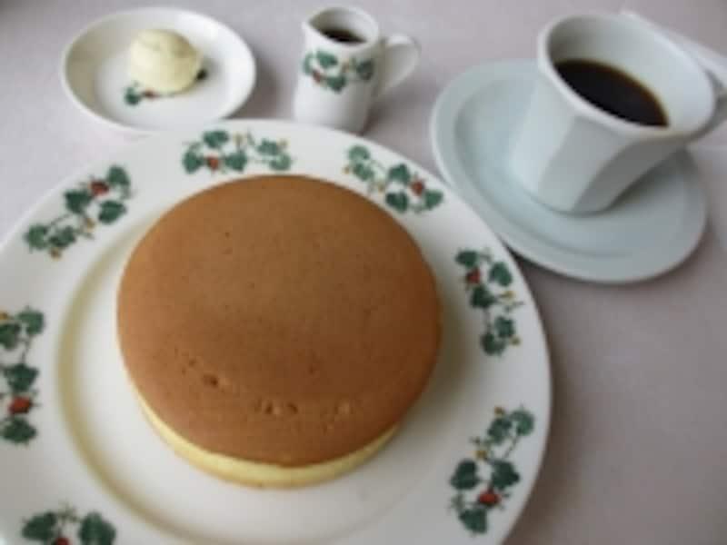 六花亭のホットケーキ