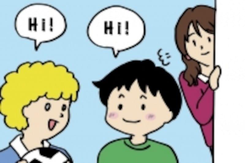 親子留学は、親ががんばっている姿を見て子どもが触発され、楽しそうな我が子を見て親もやる気になるというメリットがあります。