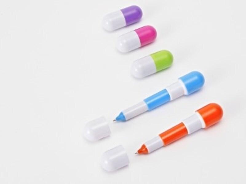 カプセル型ペン
