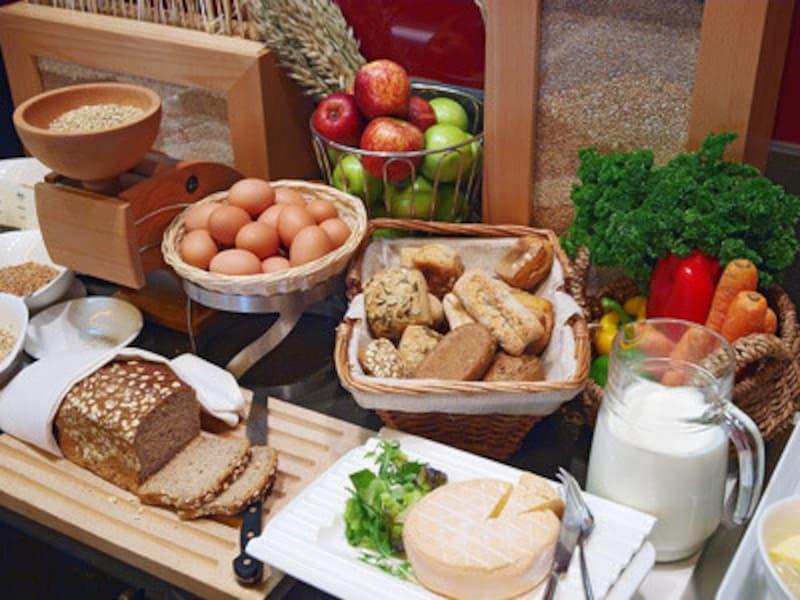 炭水化物は様々な食材に含まれています。