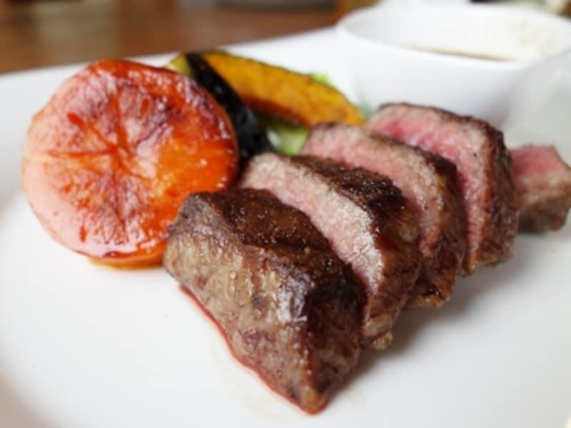 「キースプリング」のステーキ